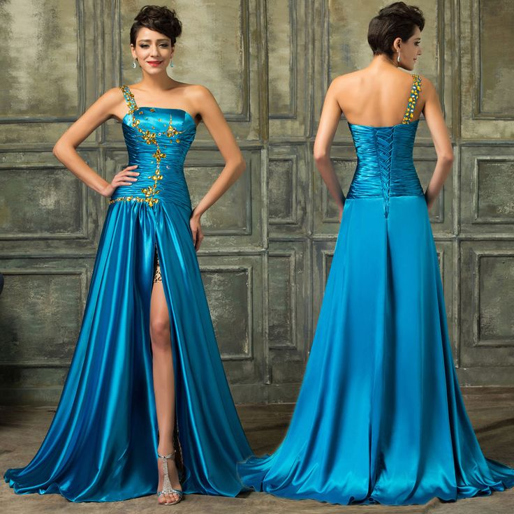 Women Long Formal Prom Dress Evening Cocktail Party Gown Bridesmaid Dress NEW #GraceKarin #BallGown #Formal