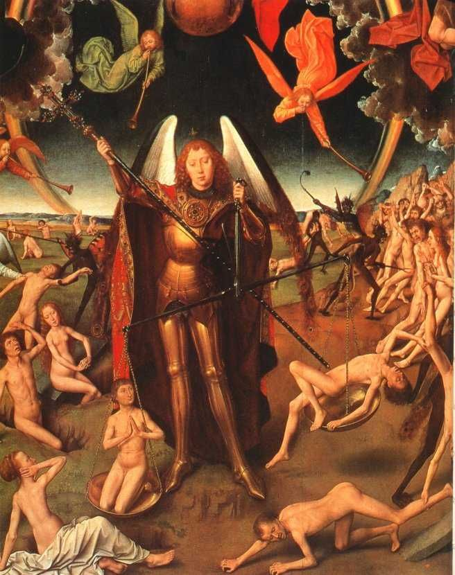 Image result for michael caller of souls renaissance art