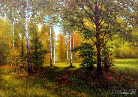 Шевчук Николай - Осенний лес.