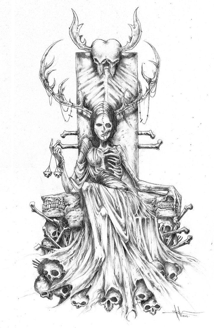 Hel By Shawncoss On Deviantart In 2019 Mythology Tattoos