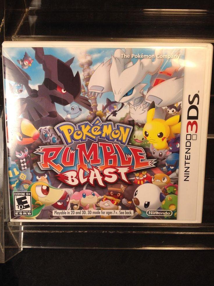 Pokemon Rumble Blast for Nintendo 3DS, 3DSXL
