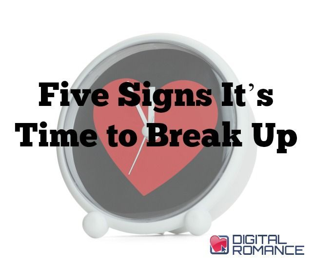signs to break up a long distance relationship