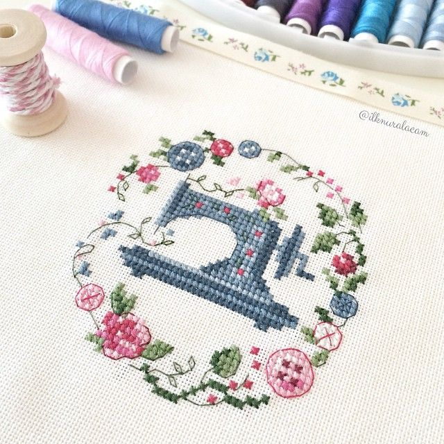 #ilknurxstitch
