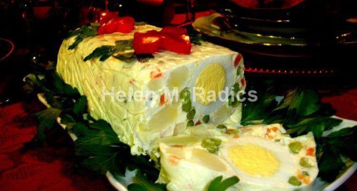 Karácsonyi Franciasaláta | APRÓSÉF.HU - receptek képekkel