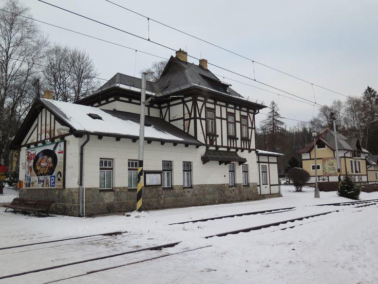 Stanica Tatranská Lomnica -január 2016
