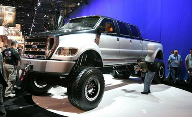 Big ford pickup trucks