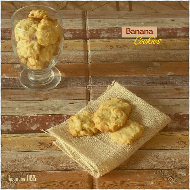 dapoerunee : Banana Cookies