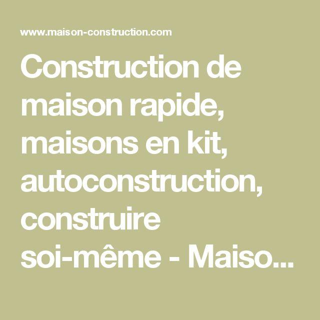 Top 25 ideas about Maison En Kit on Pinterest  Une cabine en bois, Tiny buil