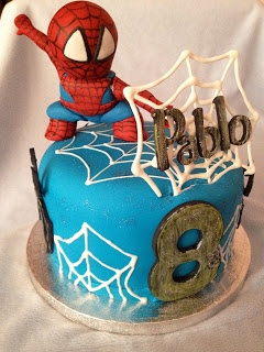 Marinadas Yoli: Tarta Spiderman!