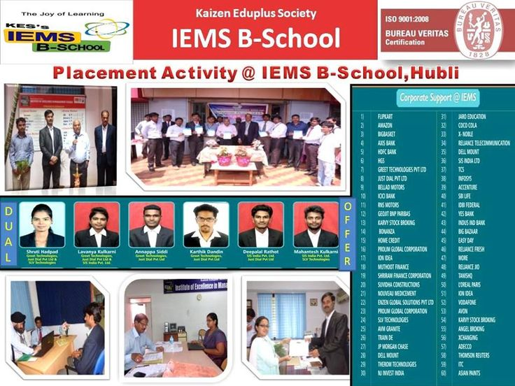 Placement Activities @ IEMS B-School  A Glimpse of Placement activities conducted at #IEMSBSchool, with Highest Salary Package of 6.6 lakhs & Average Salary of 4.4 lakhs