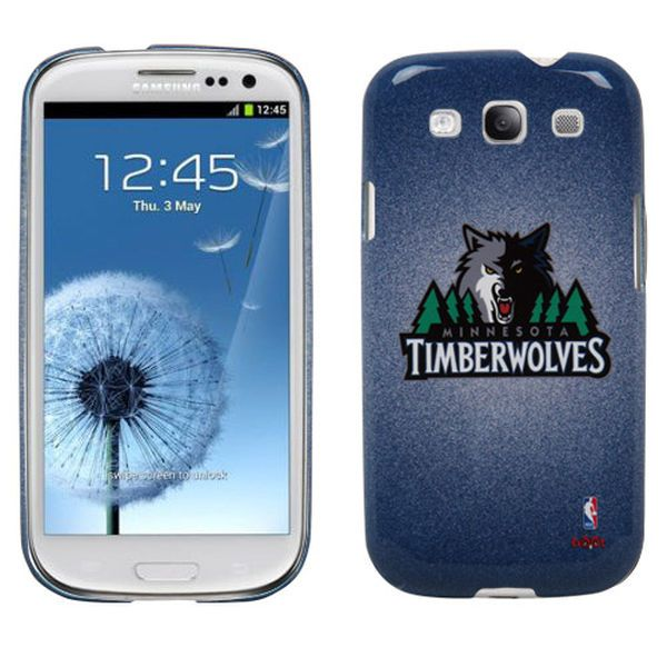 Minnesota Timberwolves Samsung Galaxy S3 Case - Navy Blue - $14.99