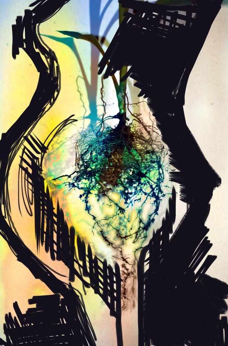 KÖK Üzeri N  Kadın #art #artist #sanat #digitalart #mixmedia #edit