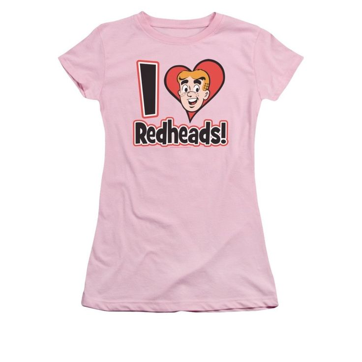 Archie Comics - I Love Redheads Junior T-Shirt