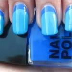 dark and light blue