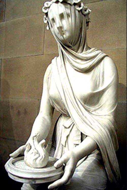 Vesta- Hestia. Diosa protectora del Hogar y del Fuego