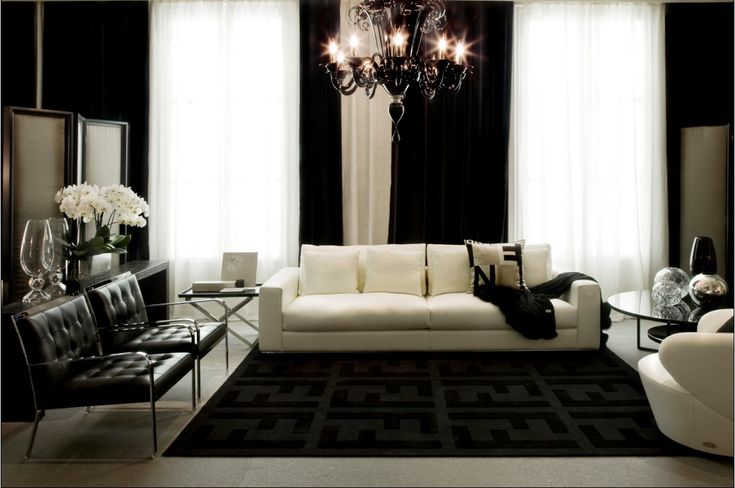 Glamorous Fendi Living Room Condo Ideas Pinterest