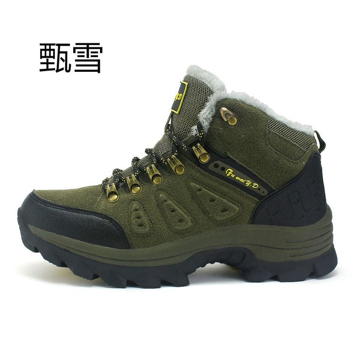 31.15$  Watch here - Design new men's boots for men, special for mountaineering, winter snow boots thermal fur and plush lace high fashion me   #aliexpresschina