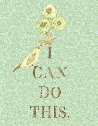 I can do this.                                                                                                                                                                                 More