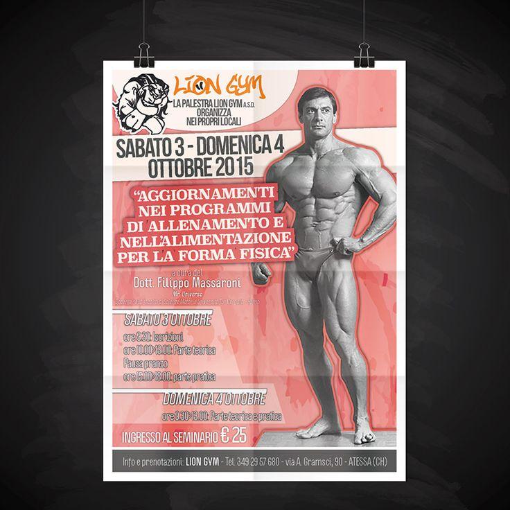 Cliente: Lion Gym | Grafica - GRAFIDEA • Stampa & Pubblicità