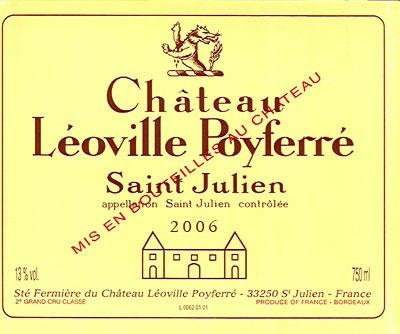 Château LEOVILLE POYFERRE - Saint Julien - Second Cru Classé
