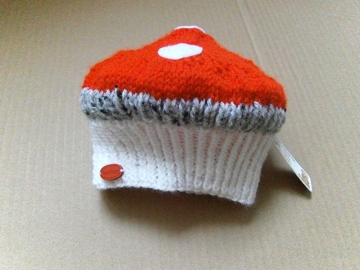czapka+MUCHOMOREK+w+Hand+Made+Lidia+na+DaWanda.com