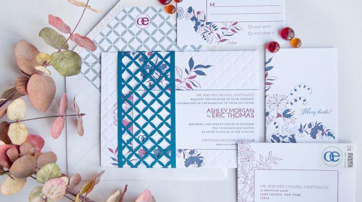 The Pink Orange - Couture - Custom Designs #lasercut #weddinginvitations #wedding