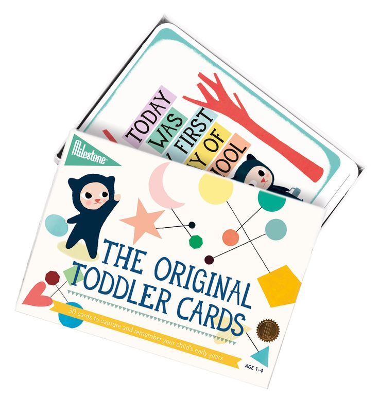 Your child's early years are filled with memorable moments. Learning to jump, dance, throw and catch a ball, ride a bike, count to ten, climb the stairs.. Capture it with the Milestone™ Toddler Cards!  www.milestonecards.com