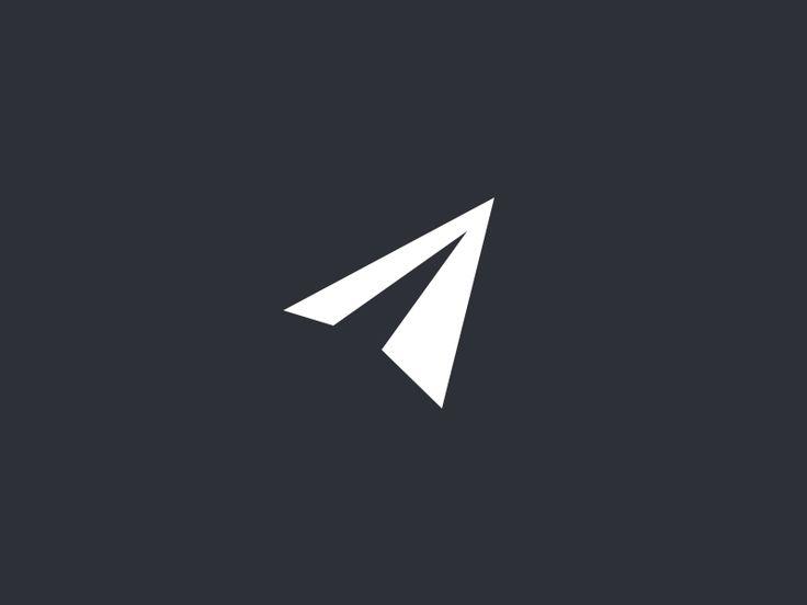 Logo paper airplane