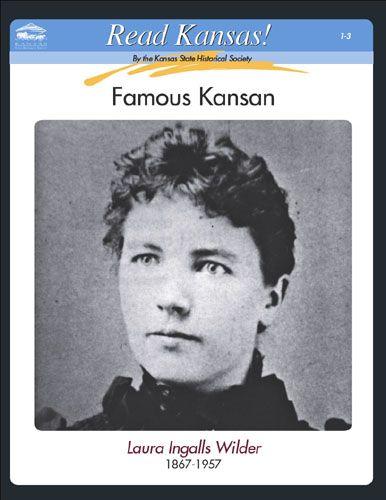 Laura Ingalls Wilder, Read Kansas! cards