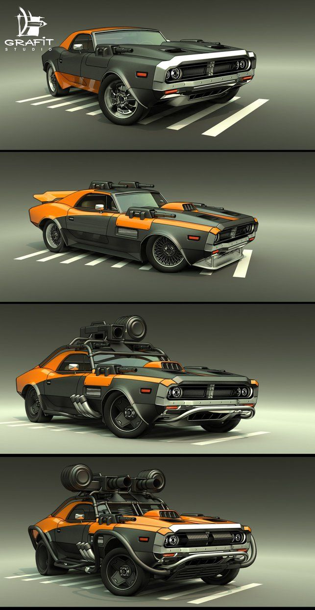 Battle Carzzz - Muscle by 600v.deviantart.com on @DeviantArt