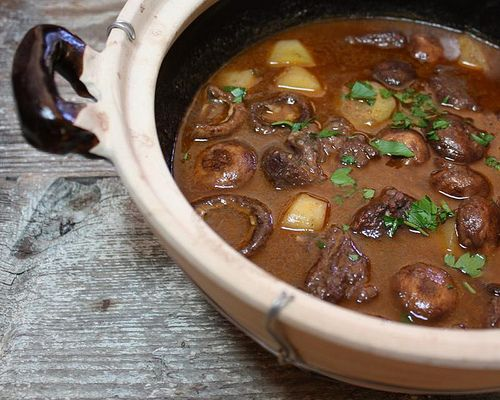 Red Wine & Beef Stew | Les Mis-inspired Recipes | Pinterest