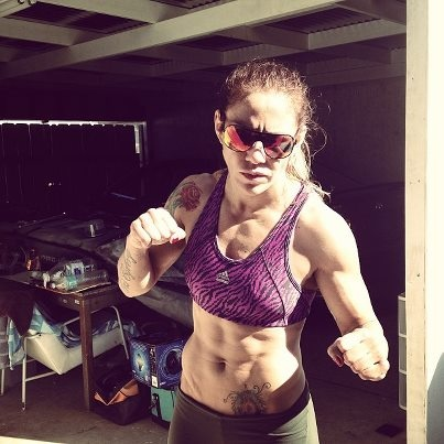 "Cris Cyborg say's ""I am not afraid of Ronda, come on, step up B—H!!!!"""