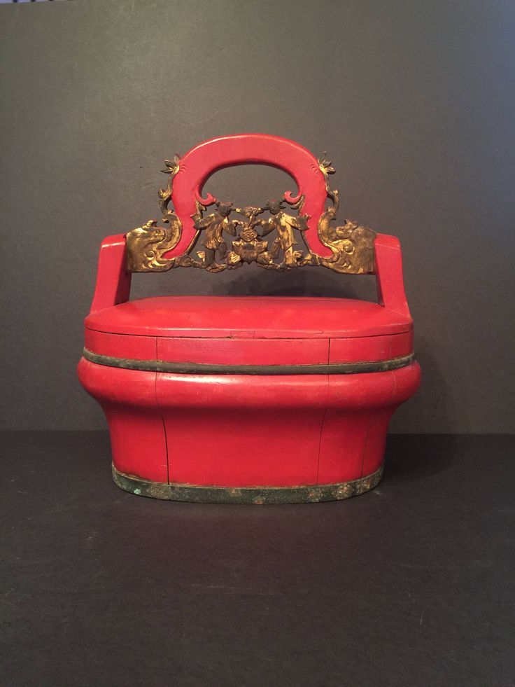 Beautiful Oriental Antique hand-painted Wooden Food Basket Picnic Box Bucket with Carved Art on Handle-Asian-Chinese-Vintage decor by AntiquesFromtheBLVD on Etsy https://www.etsy.com/listing/559974609/beautiful-oriental-antique-hand-painted