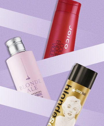 Brighten your gorgeous blonde hair and tone down brassiness with these top-reviewed purple shampoos
