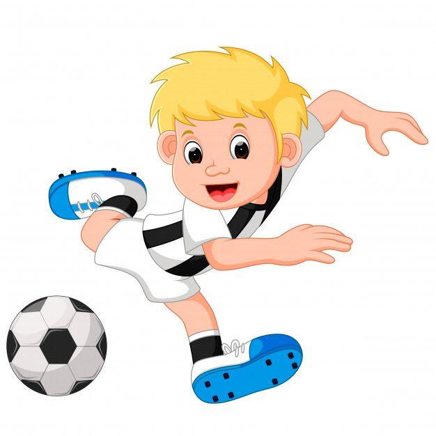 Dibujos Animados De Nino Feliz Jugando Futbol Vector Premium Free Vector Freepik Vector Freeeducacion F Ninos Dibujos Animados Ninos Felices Jugar Futbol