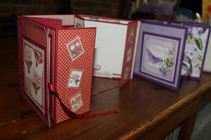 Charlottes Web Scrapbooking, Stamping & Papercraft - Time to Flourish Mini Album - Bev