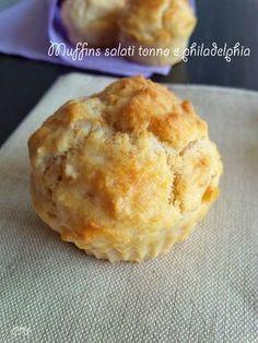 Muffins salati tonno e philadelphia