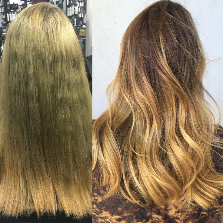 Balayage Hair Color Correction Hair Color Golden Blonde