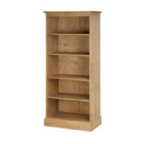 Cotswold Pine Tall Bookcase CT911  www.easyfurn.co.uk