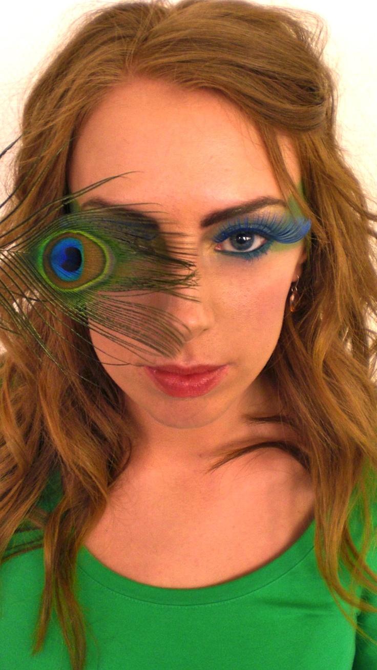 Peacock Photoshoot. Hair & Makeup: Johanna Stake