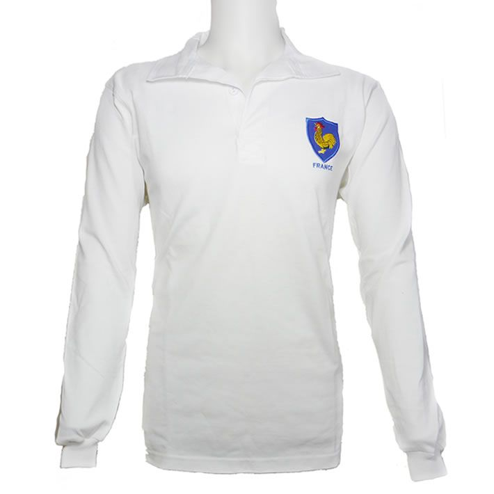 Maillot Rugby France 1968