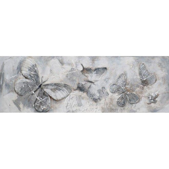 Vlinders Horizontaal Schilderij