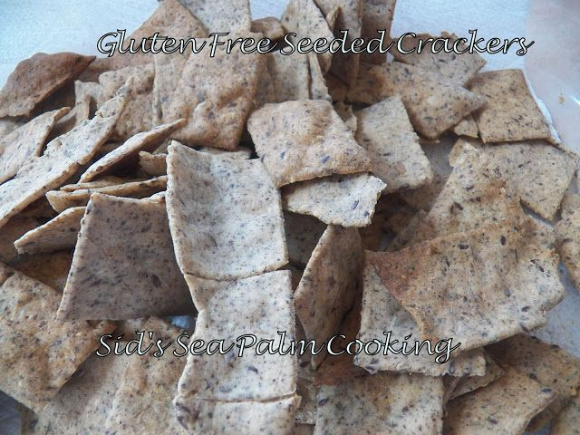 Gluten Free Seeded Crackers