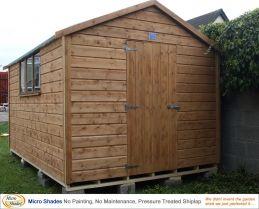 Garden Sheds Ireland - Timber Sheds Dublin and Wooden Sheds for Sale Online Premium Standard Range