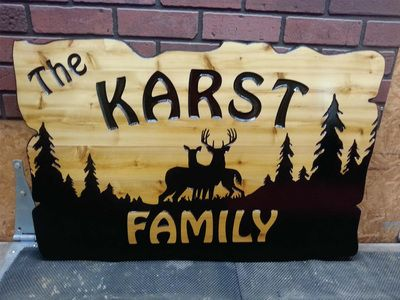 CNC Signmaker - Wooden Sign Maker