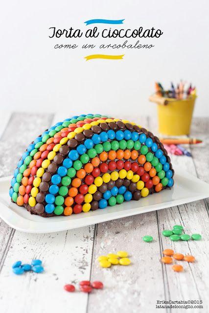 La tana del coniglio: Torta al cioccolato, come un arcobaleno
