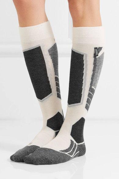 FALKE Ergonomic Sport System - Sk2 Knitted Socks - White - 39/40
