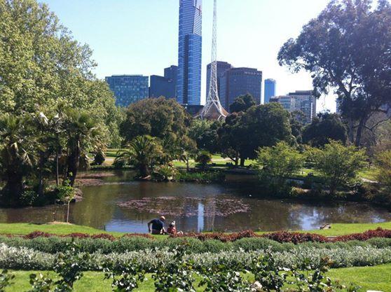 Royal Botanic Gardens in South Yarra, VIC. 2012