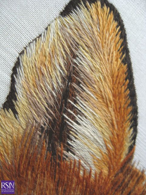 Advanced Silk shading worked by Nancy E - detail 3 | Flickr - Photo Sharing!