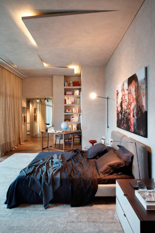 The lighting, A Master Suite Designed for Privacy and Intimacy in interior design  Category
